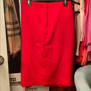 EUC Calvin Klein Red Suit Separate Skirt size 22W